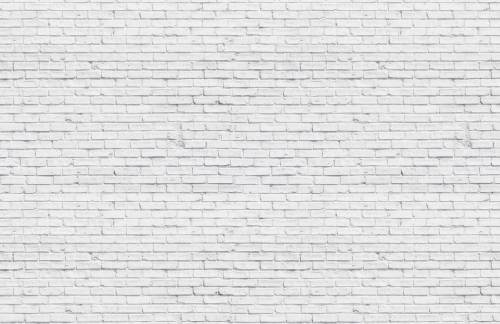 Medium Of White Brick Wall