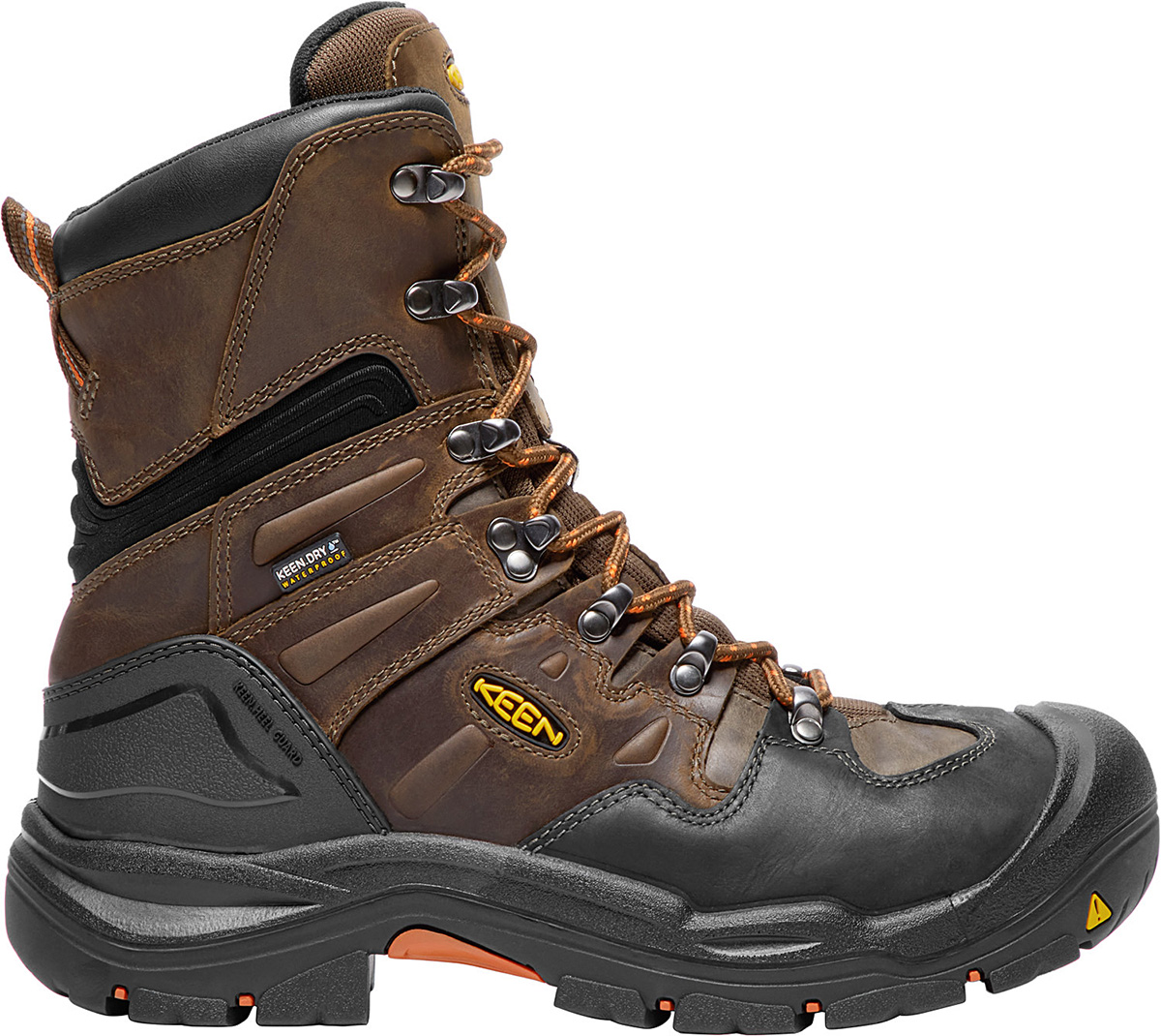 8quot Coburg Waterproof Steel Toe Boot