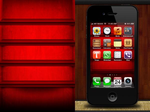 Bookshelf Iphone Wallpaper Iphone Ana Ekranı I 231 In 40 Yaratıcı Iphone Duvar Kağıtları