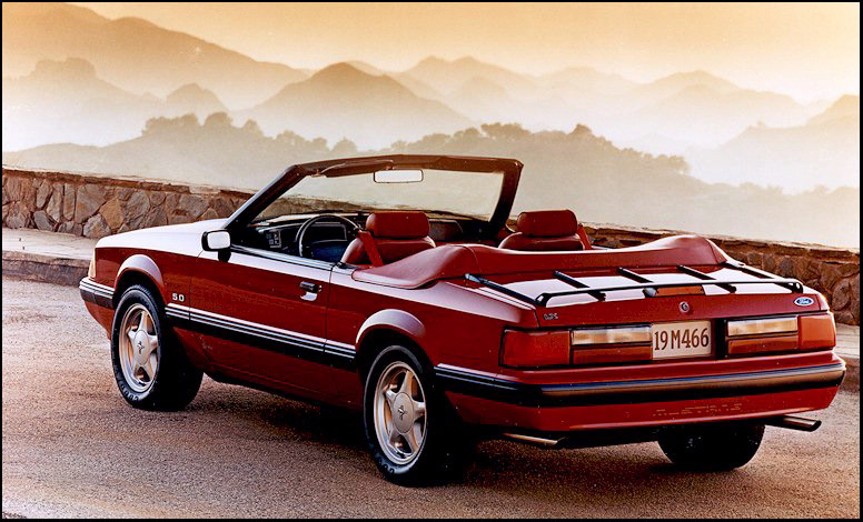 1991 Ford Mustang GT LX specifications