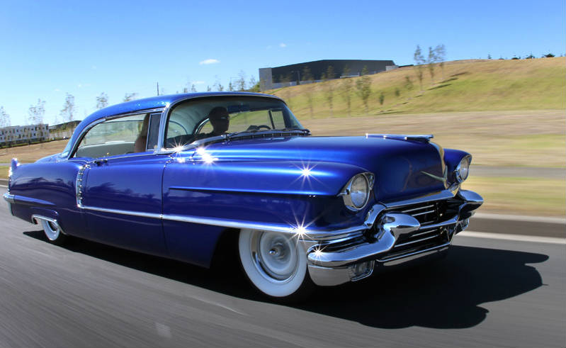 Classic Car Wallpaper Murals Mild Custom 1956 Cadillac From New Zealand Must See