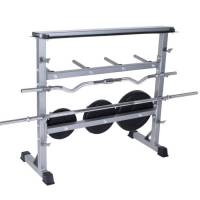 Weight Plate Stand & PVC Plate Rack