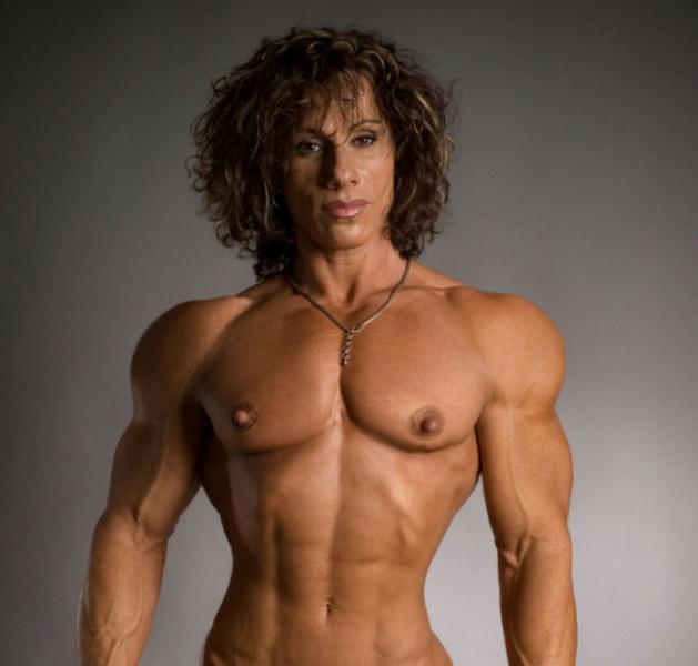 muscular girls nude