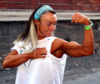 female biceps