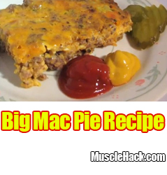 Big Mac Pie Recipe
