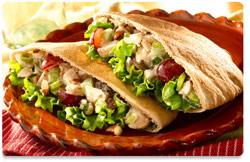 chicken wholemeal pita