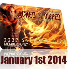 How To Get Jacked And Ripped In 2014