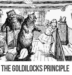 Goldilocks principle bodybuilding