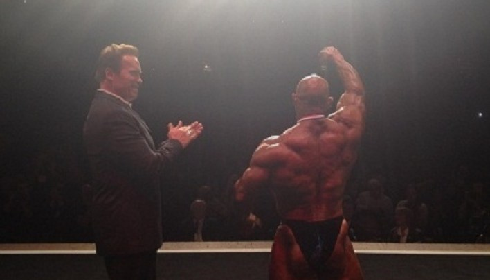 Branch Warren Wins 2012 Arnold Classic!