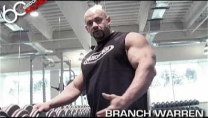 Banch Warren: One Arm Dumbell Rows