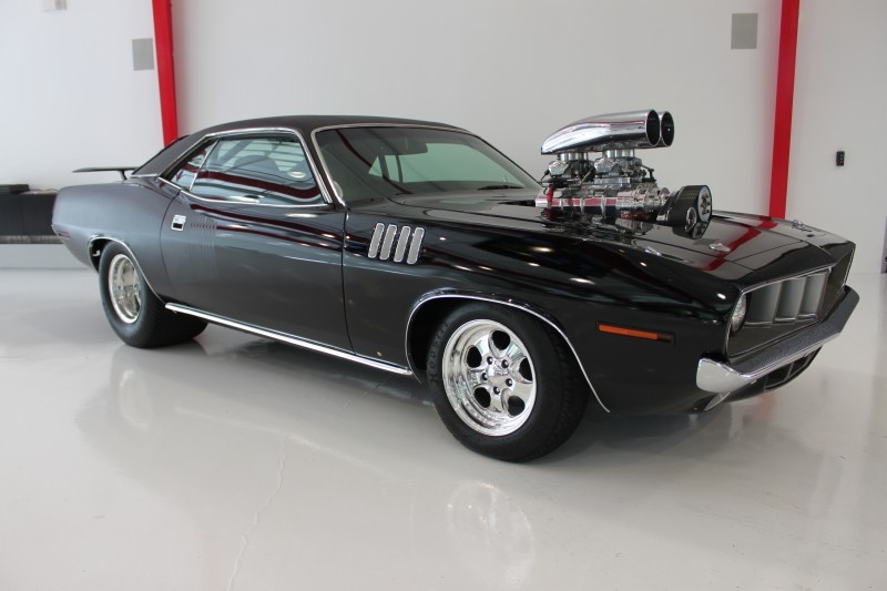 Old Time Car Wallpaper 1971 Plymouth Barracuda 1000 Hp Monster Muscle Cars