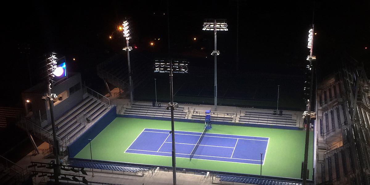 Usta National Tennis Center West Musco Lighting