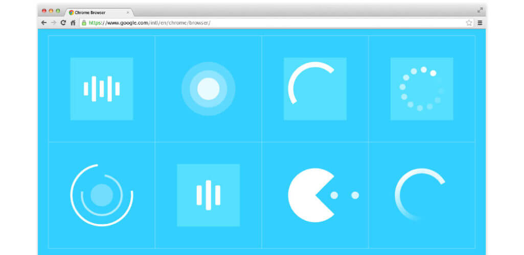 Animated page Preloaders Muse Widget MuseShopnet