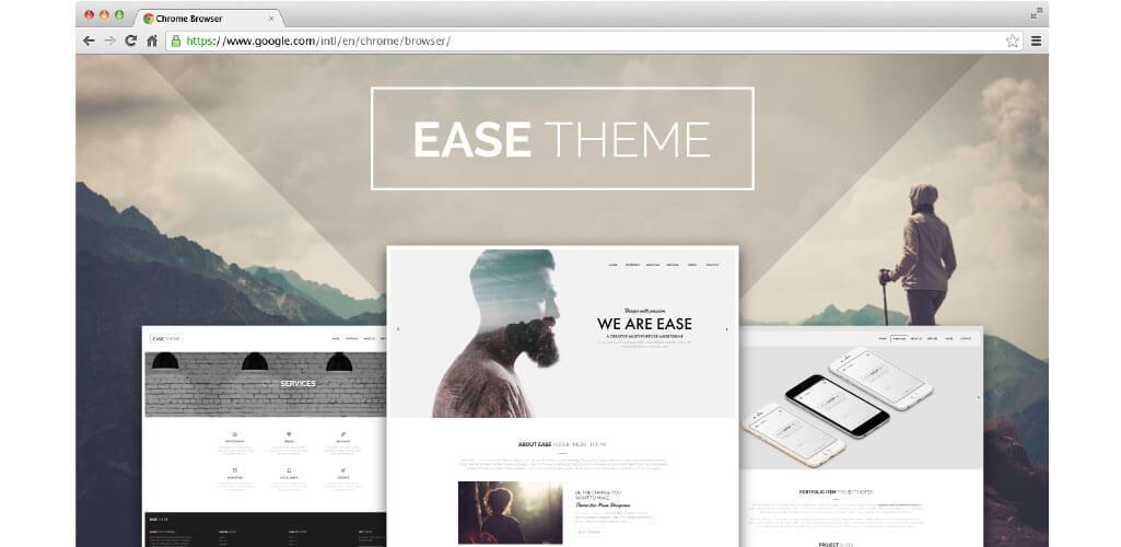 Ease Theme Beautiful Creative Multipurpose Muse Theme is Here!
