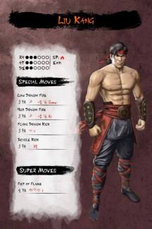 Musha Shugyo RPG Liu Kang