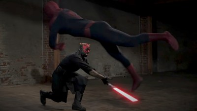 Spiderman VS Maul