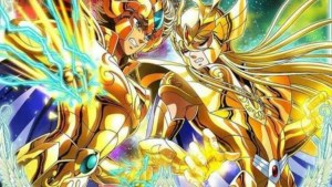 Cavalieri d'ordo:  Shaka VS Aiolia