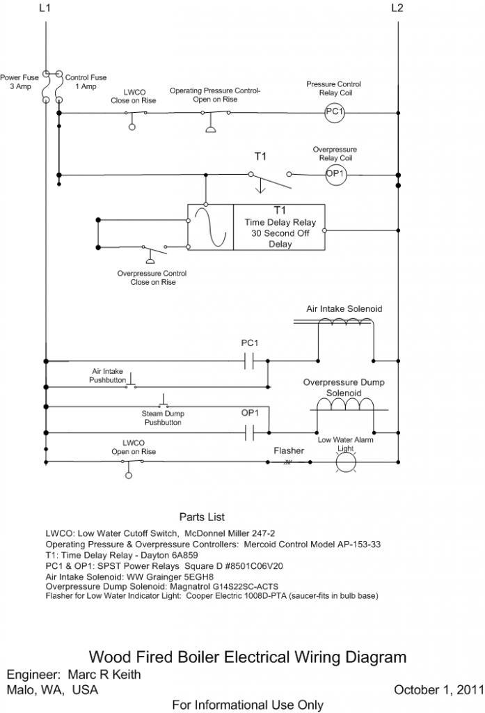 Steam Boiler Wiring Diagram Wiring Diagram 2019