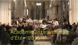 Le Clip de l'Académie d'été 2015