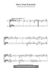 Merry Xmas Everybody (Slade) by J. Lea, Noddy Holder on ...