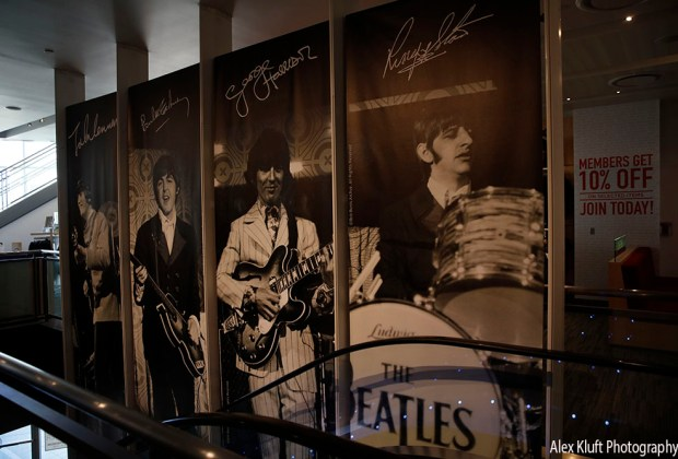 The beatles at Grammy Museum