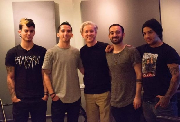 Behind The Fallen with The Word Alive Telle Smith