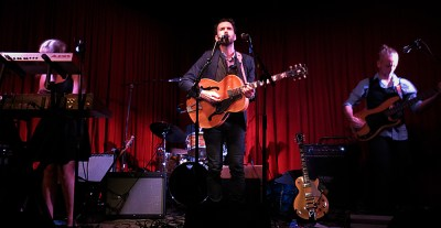 Oliviero live review - photo by Heather Allen