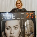 "Adele - ""25"" goes 10x Platinum"