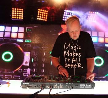 "Roland ""The Future. Redefined."" Burbank, CA - DJ Trayze"