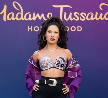 Selena Quintanilla wax figure Madame Tussauds