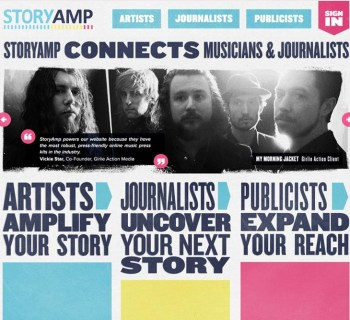 StoryAmp offering writing services for artists