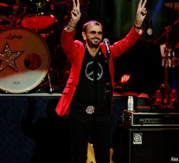 Ringo Starr at Fred Kavli Theatre - photo by Alex Kluft
