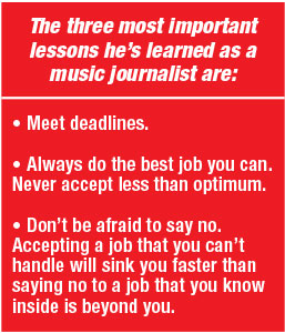 Howard Massey 3 lessons learned