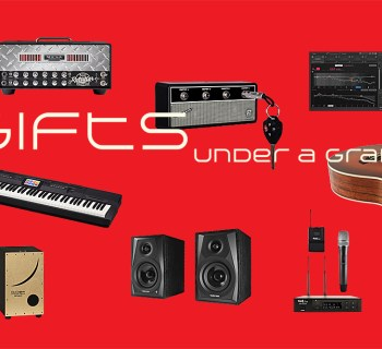 music gear gifts under a grand