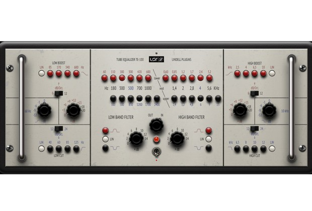 Plugin Alliance Lindell Audio TE-100 EQ Plug-in music gear review