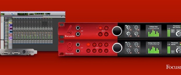 Focusrite Simplifies Red Pro Tools