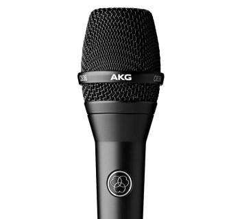 AKG C636 condenser microphone - music gear review