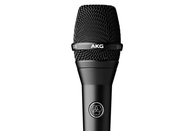 AKG C636 condenser microphone - music gear review