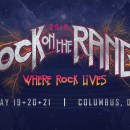 Rock on the Range daily lineup 2017