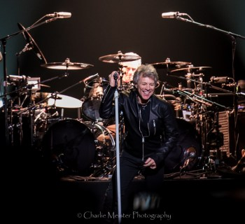 Bon Jovi in Cleveland, OH - photo credit: Charlie Meister
