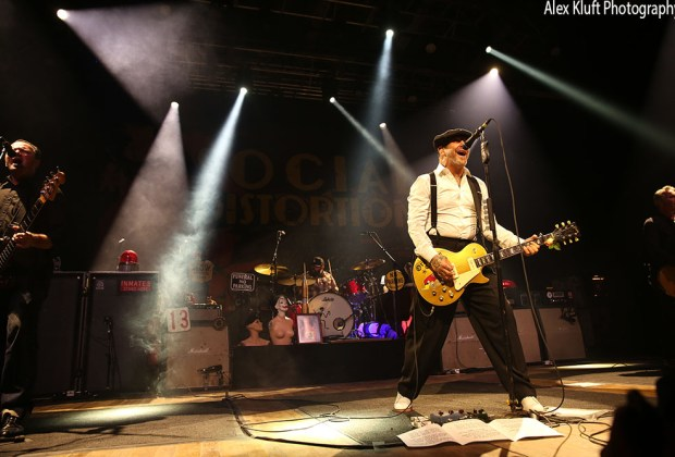Social Distortion at House of Blues in Anaheim, CA - photo credit: Alex Kluft