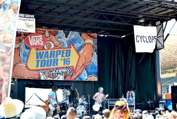Warped Tour 2016 - photo by Siri Svay