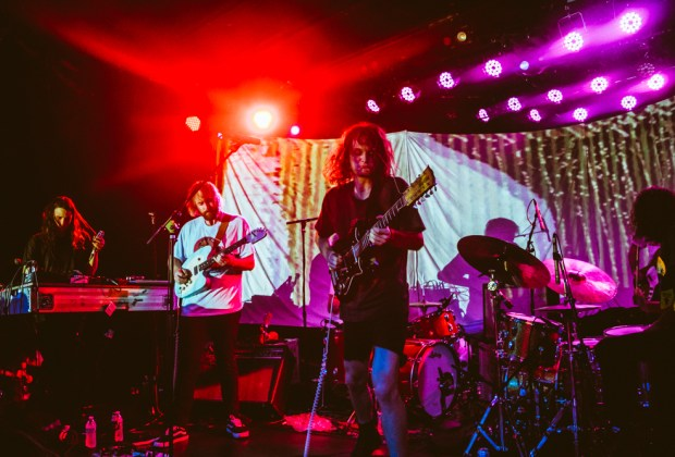 King Gizzard and the Lizard Wizard in West Hollywood, CA - photo credit: Marcos Manrique
