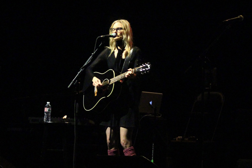 Aimee Mann at Ace Hotel Theatre in Los Angeles, CA - photo credit: Rosario Diaz