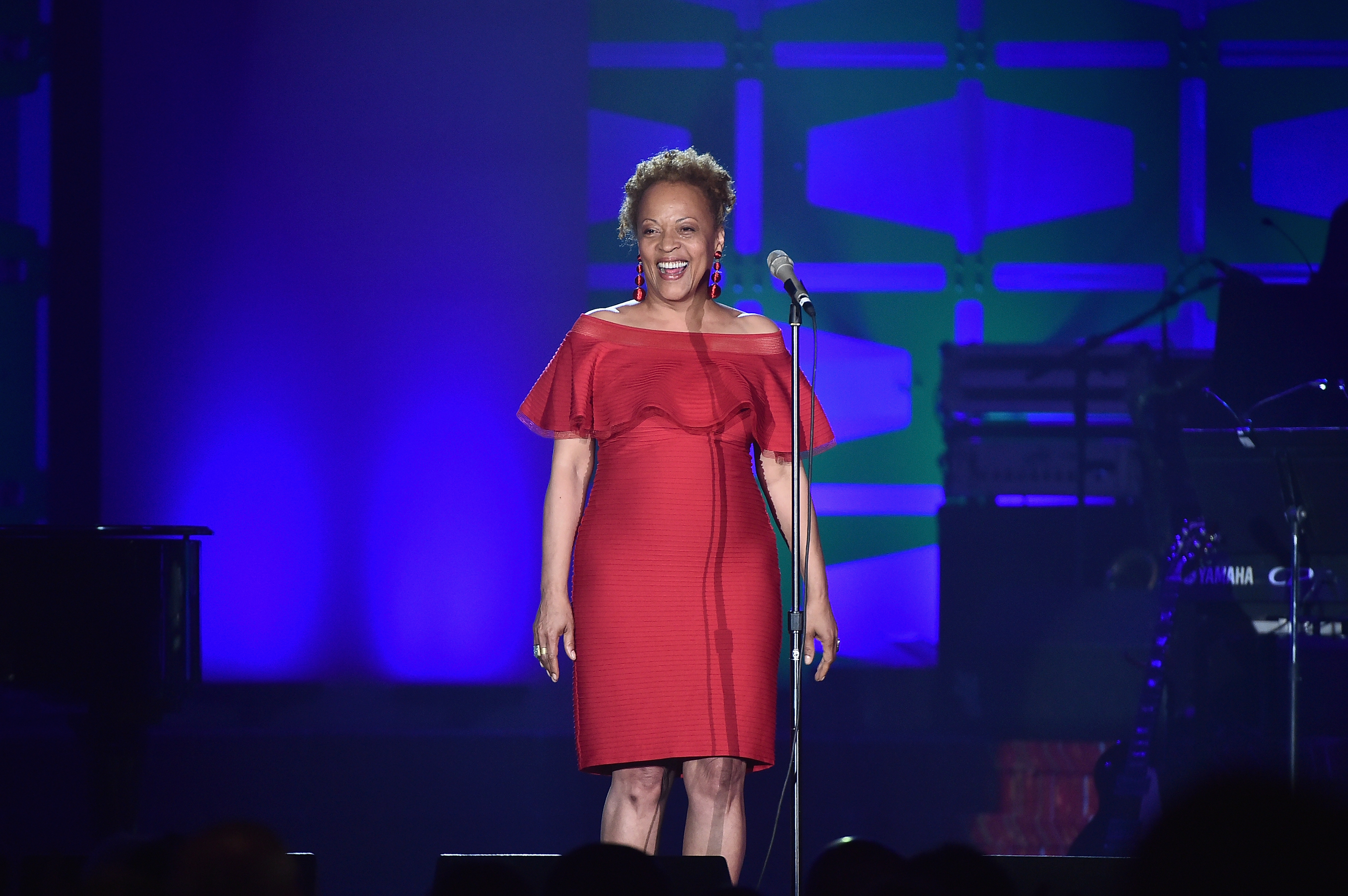 NEW YORK, NY - JUNE 15:  Cassandra Wilson performs onstage at the Songwriters Hall Of Fame 48th Annual Induction and Awards at New York Marriott Marquis Hotel on June 15, 2017 in New York City.  (Photo by Theo Wargo/Getty Images for Songwriters Hall Of Fame) *** Local Caption *** Cassandra Wilson