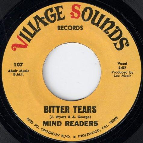 Mind Readers - Bitter Tears (Village Sounds)