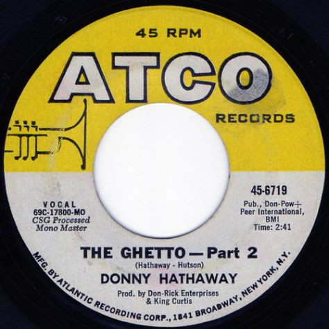 Donny Hathaway - The Ghetto Side B (Atco) 1971