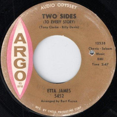 """Etta James – I Worry Bout You (Argo) [7""""] '1963"""