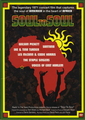 Soul To Soul 1971 DVD Front Cover Art