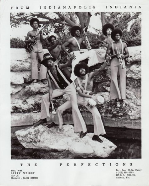 The Perfections with Betty Wright Review (Soul-Funk Band from Indianapolis, Indiania) 1970s Press Photo